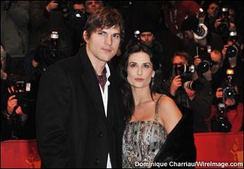 Demi Moore e Ashton Kutcher a Berlino per la presentazione del film Happy Tears