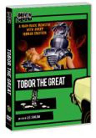 La copertina di Tobor the Great (dvd)