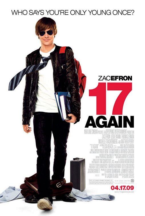 La locandina di 17 Again con Zac Efron