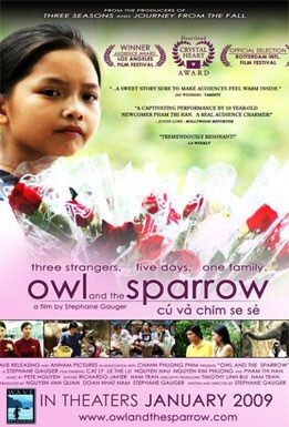 La locandina di Owl and the Sparrow