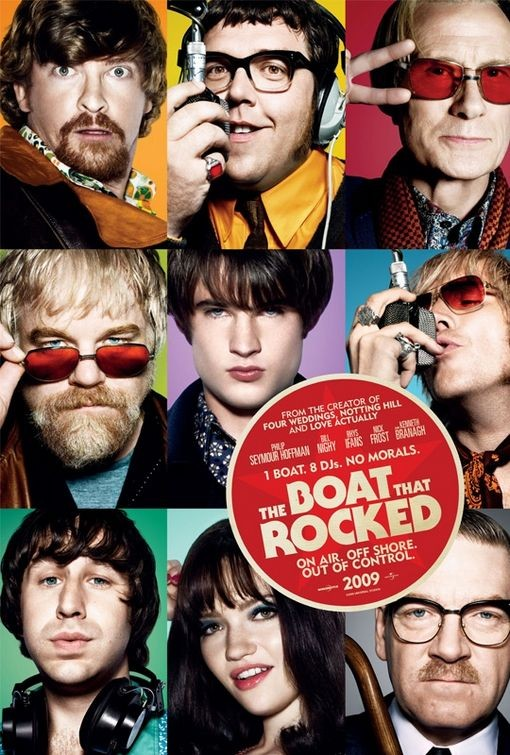 Nuovo poster per The Boat That Rocked