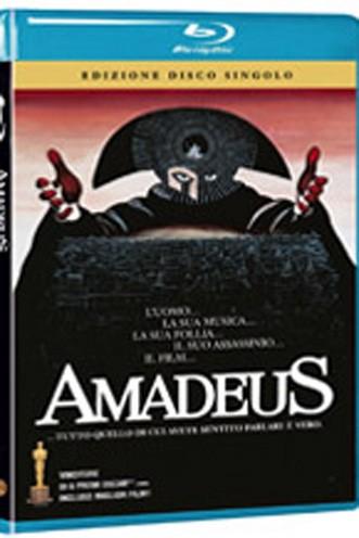 La copertina di Amadeus - Director's Cut (blu-ray)