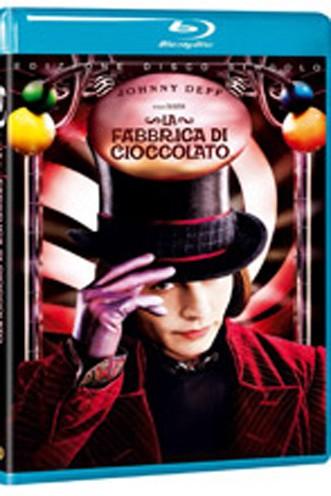 La copertina di La fabbrica di cioccolato (dvd)