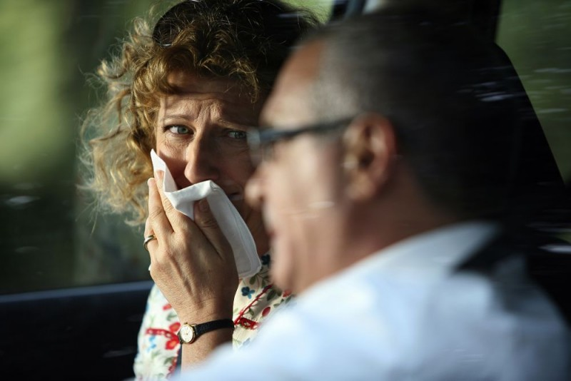 Angela Finocchiaro in un'immagine dell'episodio 'Il vecchio e il cane' del film I mostri oggi