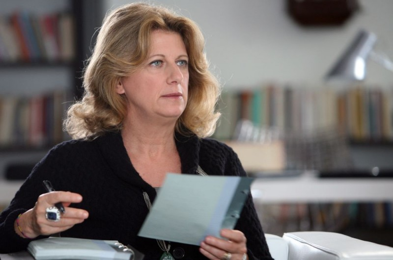 Angela Finocchiaro in una sequenza dell'episodio 'Terapia d'urto' del film I mostri oggi