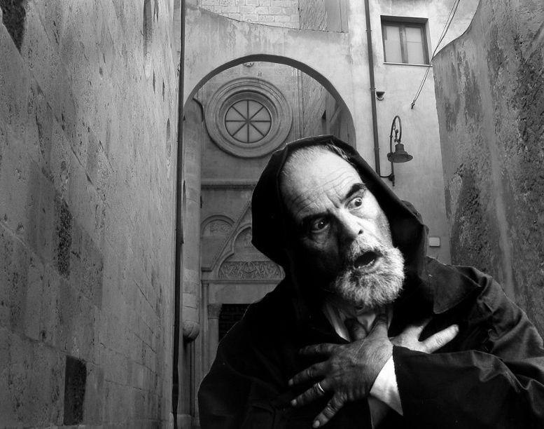 L'attore sardo Mario Medas