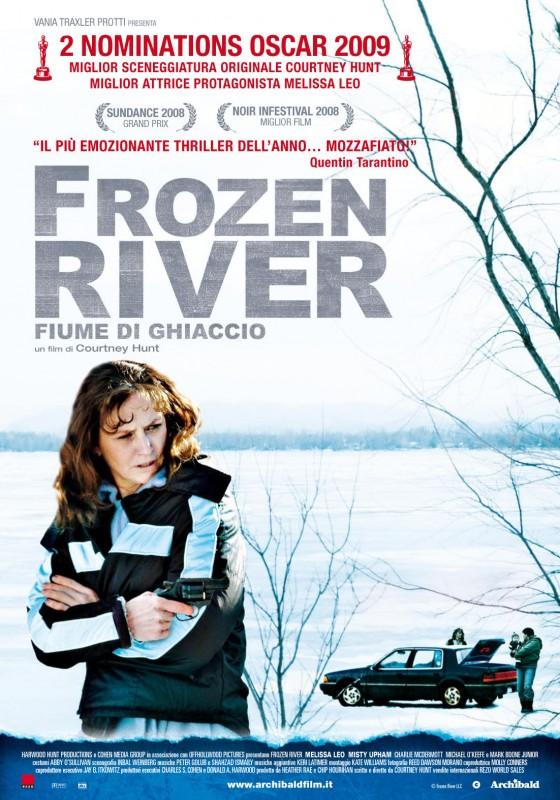 La locandina italiana di Frozen River - Fiume di ghiaccio