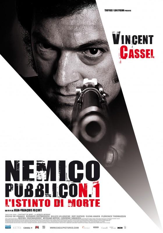 La locandina italiana di Nemico pubblico n°1
