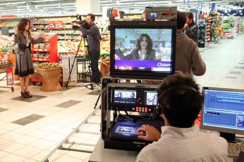 Sabrina Ferilli in un'immagine dell'episodio 'Cuore di mamma' della commedia I mostri oggi