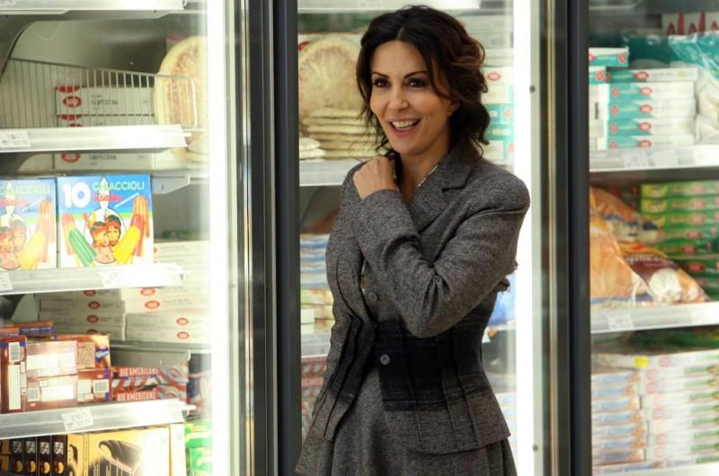 Sabrina Ferilli in una scena dell'episodio 'Cuore di mamma' del film I mostri oggi