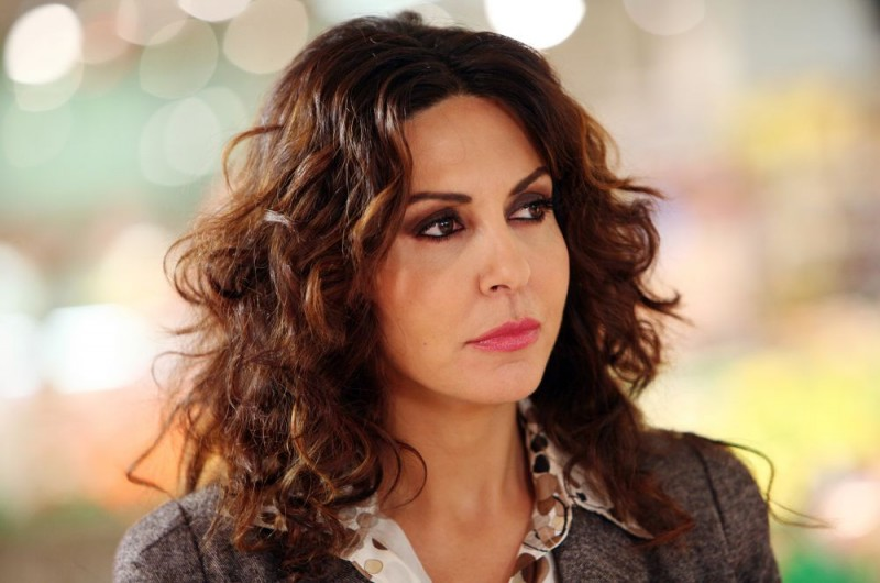 Sabrina Ferilli in una scena dell'episodio 'Cuore di mamma' della commedia I mostri oggi
