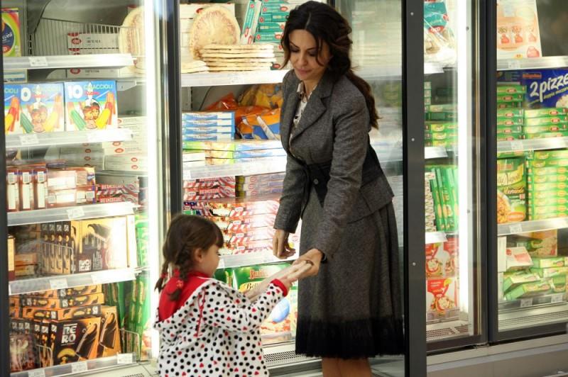 Sabrina Ferilli in una sequenza dell'episodio 'Cuore di mamma' del film I mostri oggi