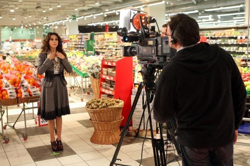 Sabrina Ferilli in una sequenza dell'episodio 'Cuore di mamma' della commedia I mostri oggi