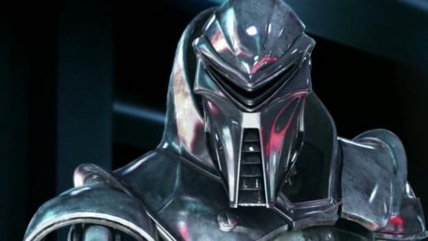 Un centurion in una scena dell'episodio No Exit di Battlestar Galactica