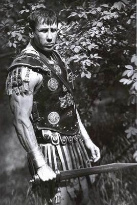 Una immagine dell'attore Gualberto Parmeggiani