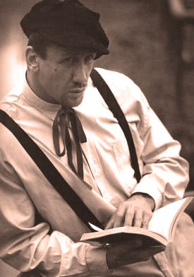 Uno dei tanti volti dell'attore Gualberto Parmeggiani