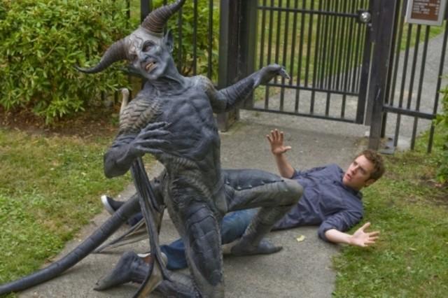 Bret Harrison in un momento dell'episodio Dirty Sexy Mongrel di Reaper