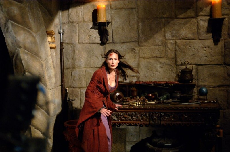 Claire Forlani in una sequenza del film In the Name of the King