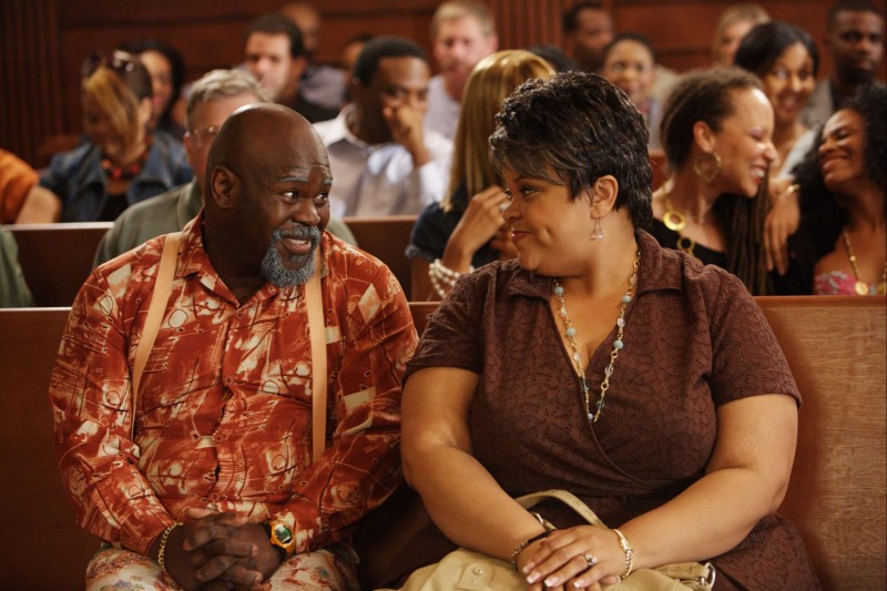 David Mann e Tamela J. Mann in una scena del film Madea Goes to Jail