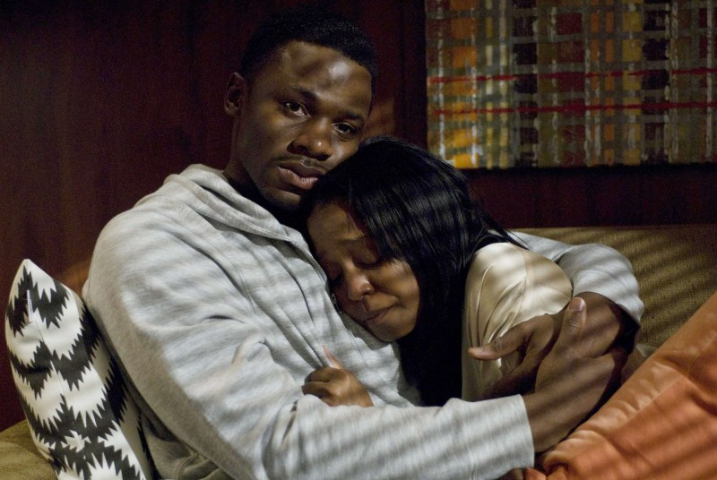 Derek Luke e Keshia Knight Pulliam in una scena del film Madea Goes to Jail