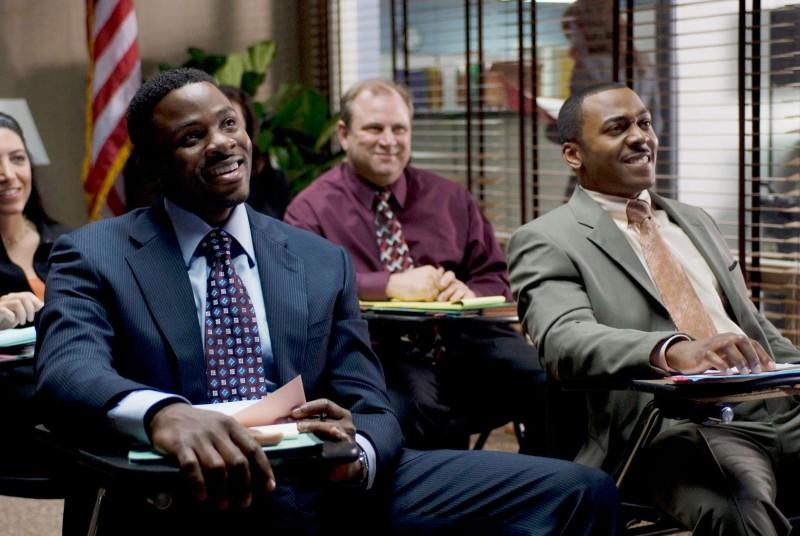 Derek Luke e RonReaco Lee in una scena del film Madea Goes to Jail