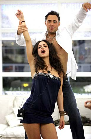 Grande Fratello 9 - Cristina Del Basso e Marcello Calabria Torre