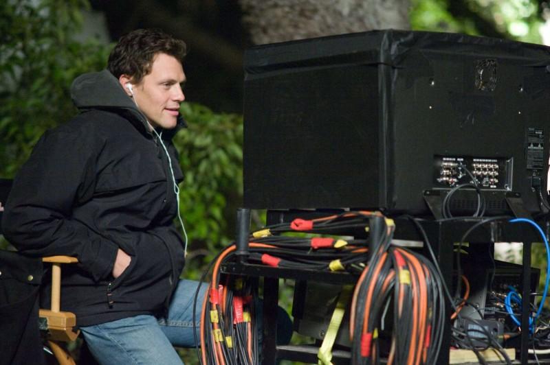 Il regista Will Gluck sul set del film Fired Up