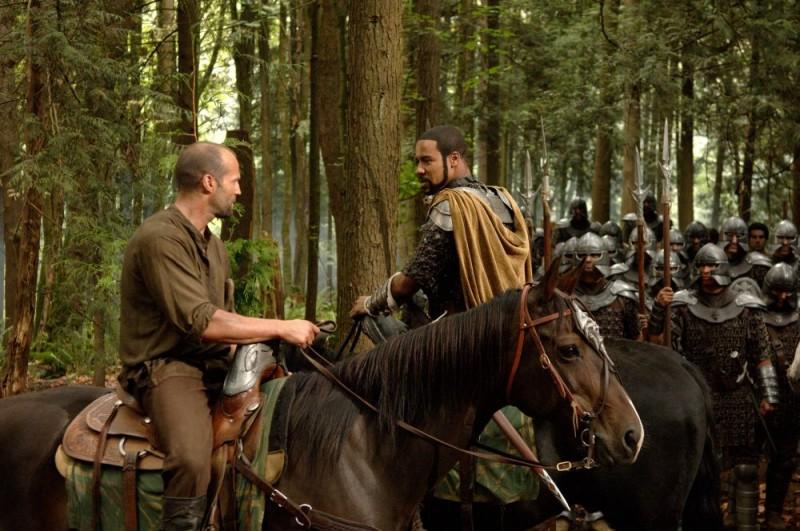 Jason Statham e Brian J. White in una scena del film In the Name of the King