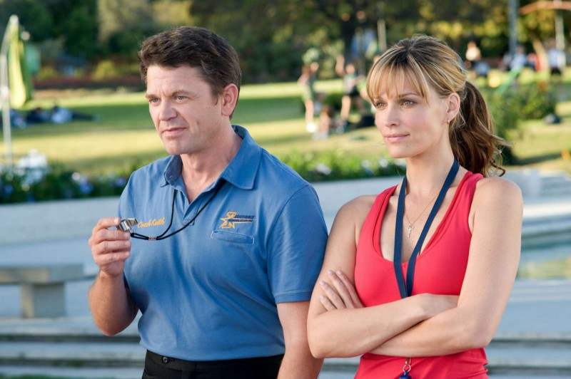 John Michael Higgins e Molly Sims in una scena del film Fired Up