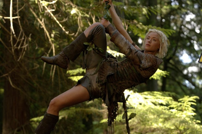 Kristanna Loken in una scena del film In the Name of the King