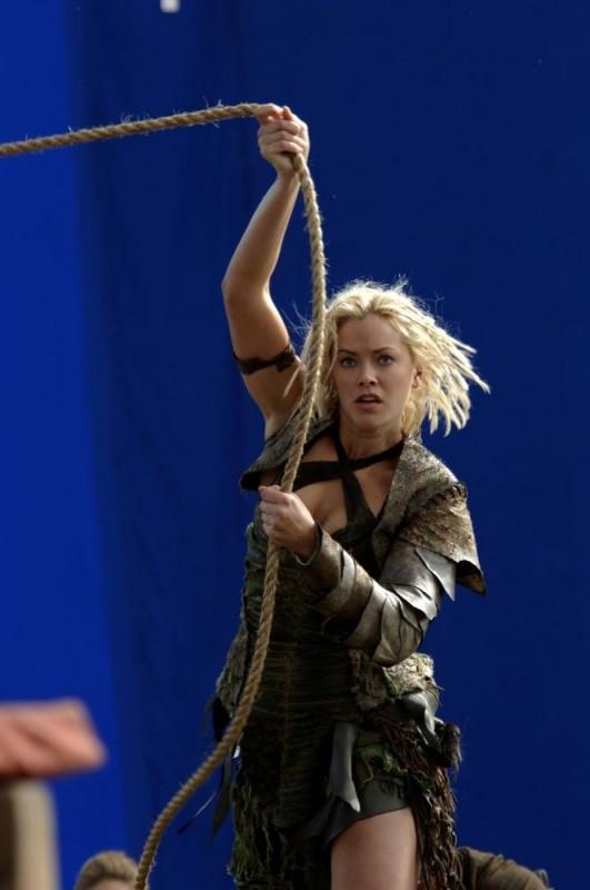 Kristanna Loken sul set del film In the Name of the King