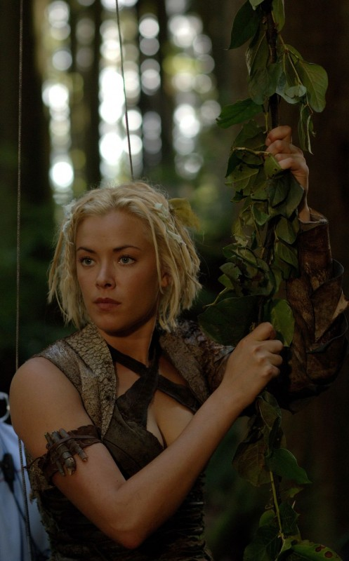 Kristanna Loken sul set di In the Name of the King