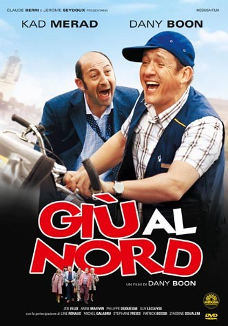 La copertina di Giù al nord (dvd)