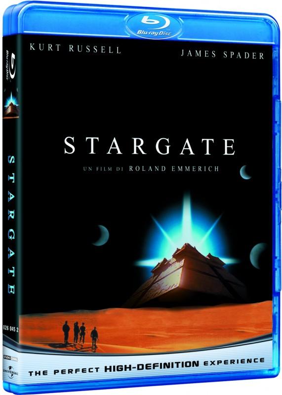 La copertina di Stargate (blu-ray)