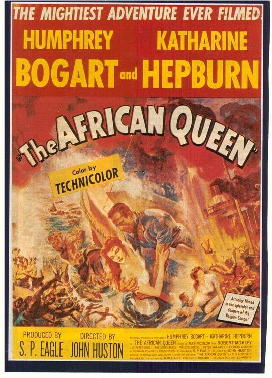 La locandina di La Regina d'Africa