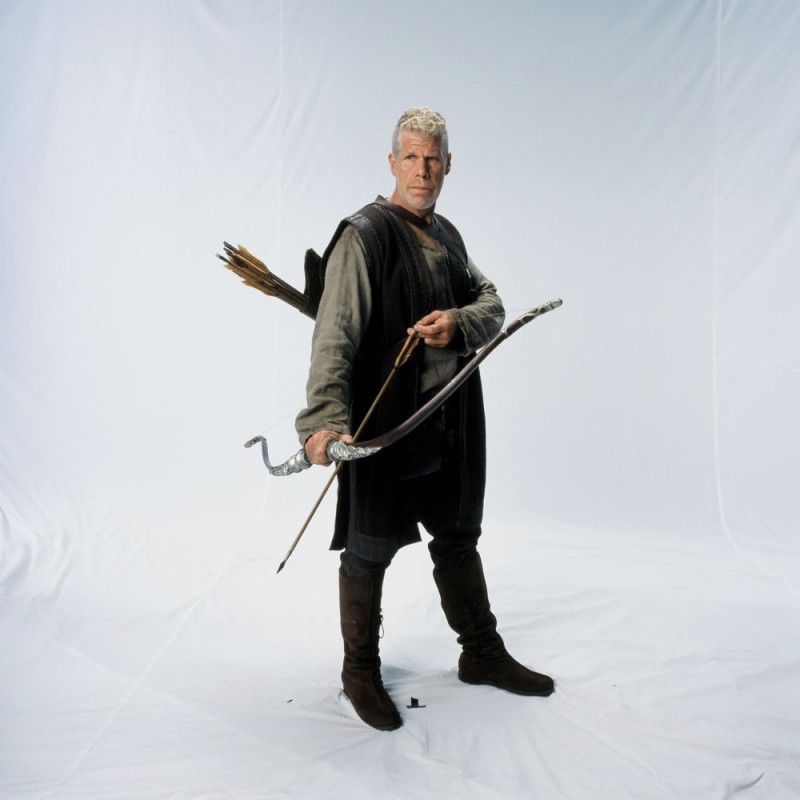 Ron Perlman in una foto promozionale del film In the Name of the King