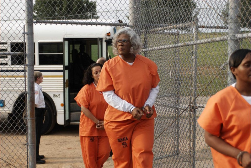 Tyler Perry in un'immagine del film Madea Goes to Jail