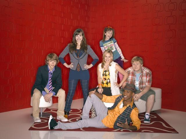 Un'immagine promozionale del cast di Sonny with a Chance