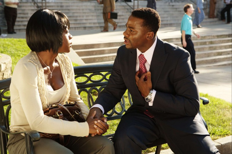 Viola Davis e Derek Luke in una scena del film Madea Goes to Jail