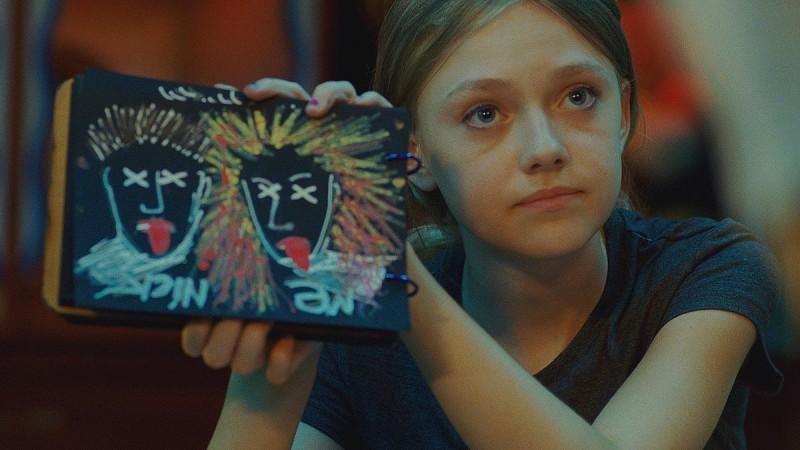 Dakota Fanning in una scena del film Push