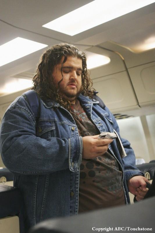 Jorge Garcia in una scena dell'episodio 316 di Lost