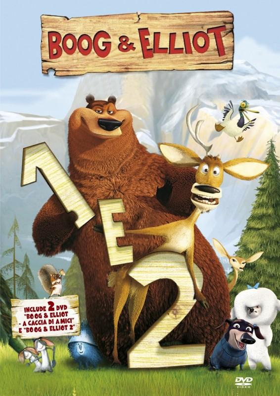 La copertina di Boog & Elliot Cofanetto (dvd)