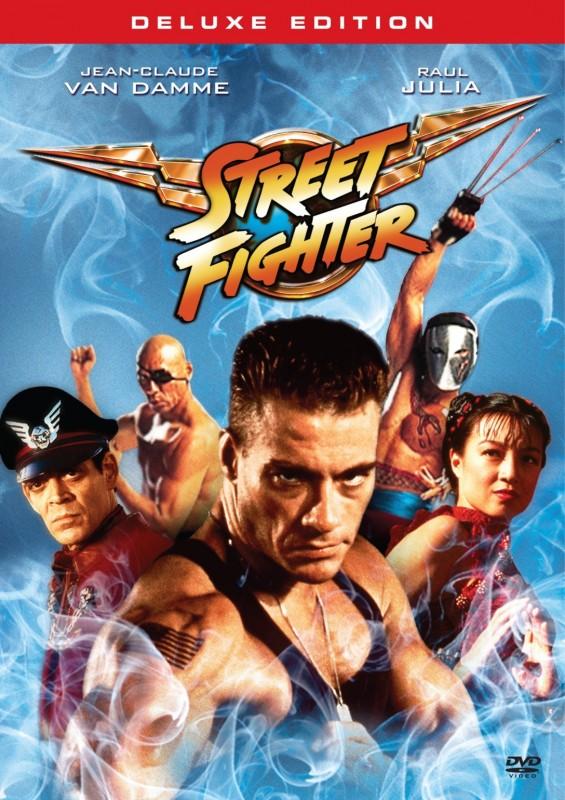 La copertina di Street Fighter - Deluxe Edition (dvd)