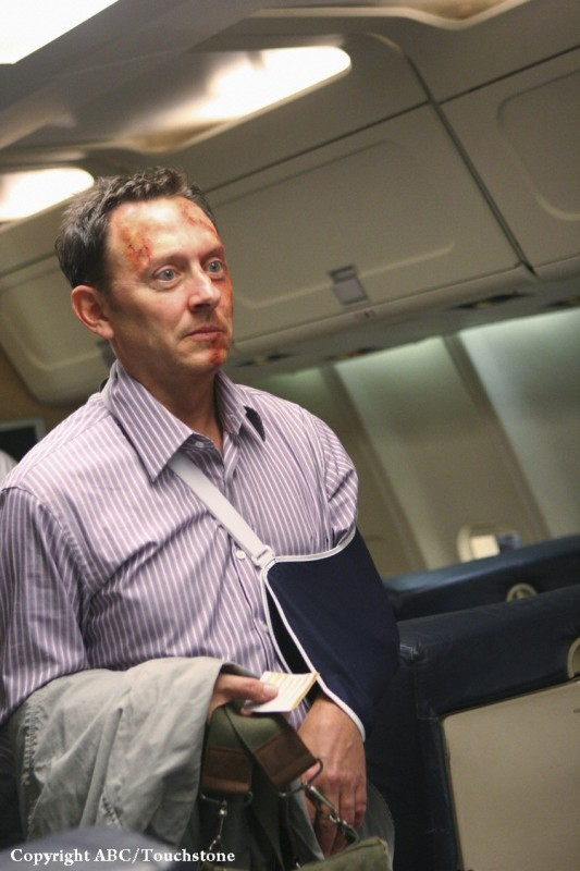 Michael Emerson in una scena dell'episodio 316 di Lost