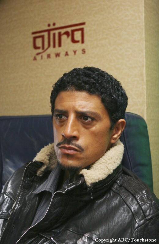 Saïd Taghmaoui in una scena dell'episodio 316 di Lost