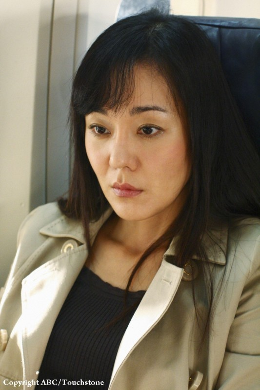 Yunjin Kim in una scena dell'episodio 316 di Lost