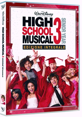 La copertina di Hig School Musical 3 - Senior year (dvd)