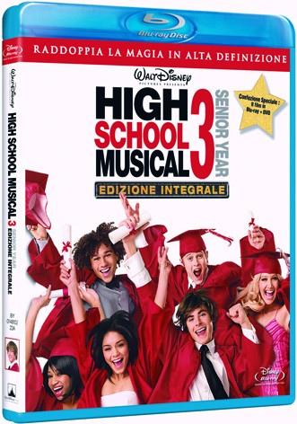 La copertina di High School Musical 3 - Senior year (blu-ray)