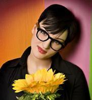 Una foto della cantante Arisa.