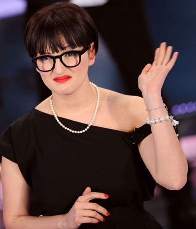 Arisa è la vincitrice della sezione 'Nuove proposte' del Festival di Sanremo 2009